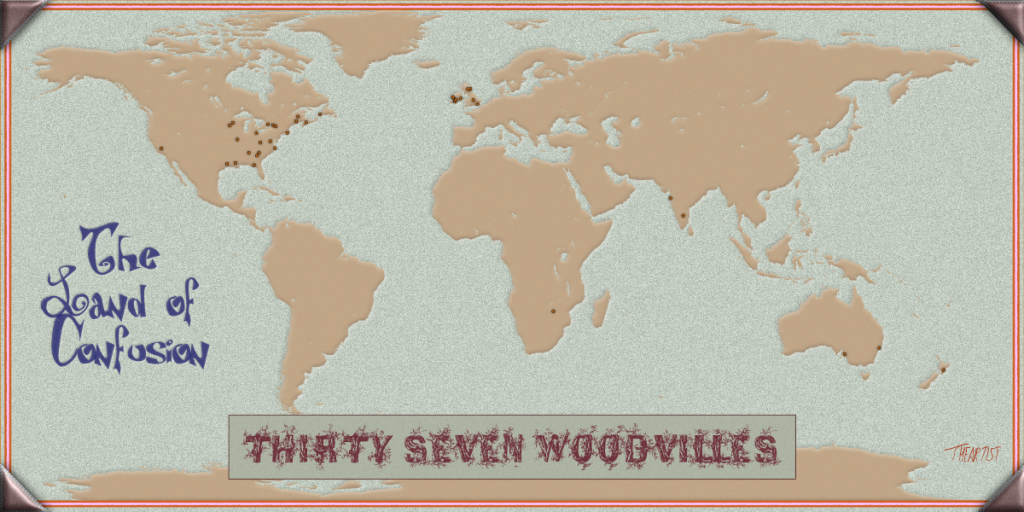 The Land of Confusion - 37 Woodvilles