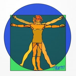 "Vitruvian Stained (""Lumo"" Vitruviano)"