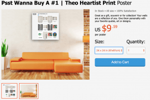 Psst wanna buy a poster #4