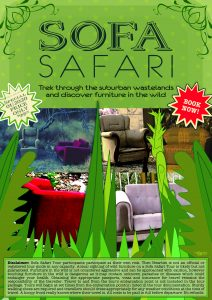 Sofa Safari Poster, digital image