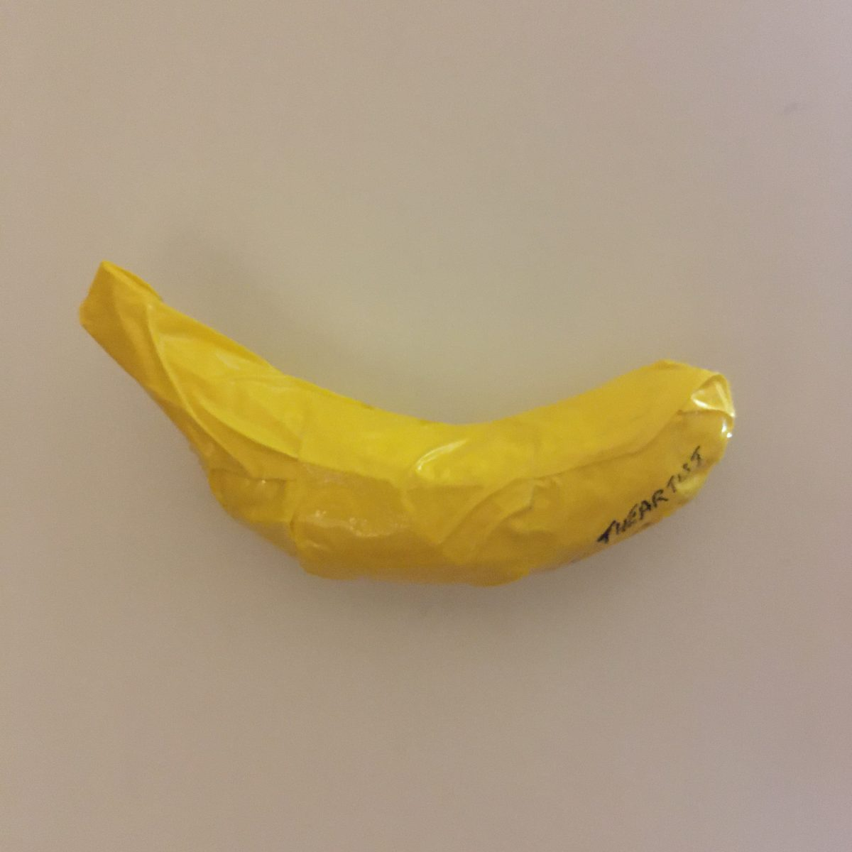 Duct tape banana, politape, 145x80mm